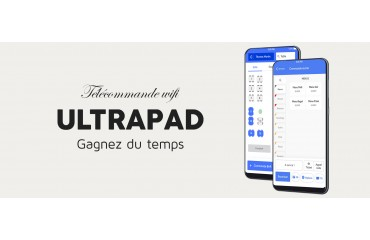UltraPad - Télécommande wifi version 2020